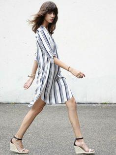 Ulla Johnson Regatta Dress - Sailor