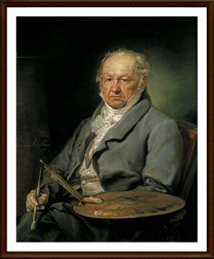 16. FRANCISCO DE GOYA (1746-1828) - Goya es un enigma. En toda la historia del Arte pocas figuras resultan tan complejas para el estudio como el genial artista nacido en 1746 en Fuendetodos. Goya fue pintor de corte y pintor del pueblo. Fue pintor religioso y pintor místico. Fue autor de la belleza y erotismo de La Maja desnuda y del explícito horror de Los fusilamientos del 3 de Mayo. Fue pintor al óleo, al fresco, dibujante y grabador. Y nunca paró su metamorfosis