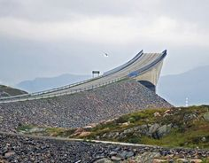 The Storseisundbrua bridge on the Atlantic Road in Norway looks as if drivers will take a leap into the unknown [IG]