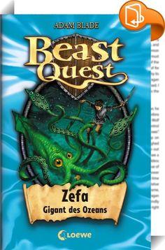 Beast Quest 7 - Zefa, Gigant des Ozeans    ::  Tom taucht in den gefährlichen Wasserstrudel hinab, um den Helm der goldenen Rüstung zu suchen. Auf einmal schlingen sich Fangarme um seinen Körper. Als der riesige Tintenfisch Zefa ihm sein Schwert aus der Hand schlägt, ist Tom wehrlos …   Actionreiche Fantasy, spannende Missionen und gefährliche Biester! Die erfolgreiche Kinderbuchreihe mit zahlreichen Illustrationen ist besonders für Jungs ab 8 Jahren geeignet.