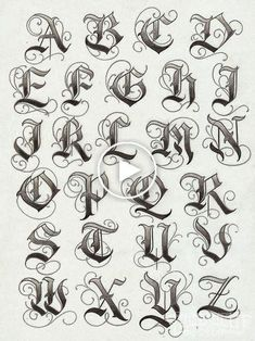 Tatto Ideas & Trends 2017 - DISCOVER lettering typographie calligraphie gothique majuscules Discovred by : Constance Dvllr Tattoo Lettering Design, Best Tattoo Fonts, Tattoo Lettering Styles, Tattoo Design Drawings, Tattoo Script, Graffiti Lettering, Tattoo Sketches, Lettering Ideas, Gothic Lettering