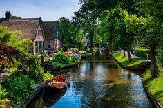 Idyllic Village 15. Venice Of The North by Jenny Rainbow Giethoorn, also known…