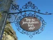 ye olde trip to jerusalem - Google Search