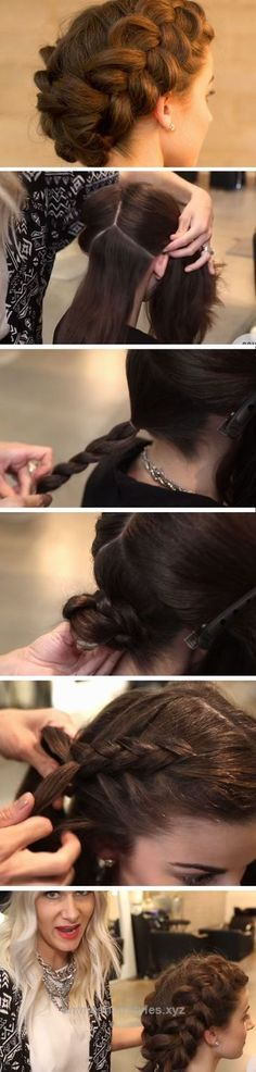 Perfect Double Dutch Braid | DIY Wedding Hairstyles for Medium Hair | Easy Bridesmaids Hairstyles for Long Hair  The post  Double Dutch Braid | DIY Wedding Hairstyles for Medium Hair | Easy Bri ..