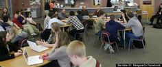 "HuffPost Eduction, January 2013: ""Minneapolis School Library Without Books Thrives After Clearing Entire Print Collection"" // Coursera classmate Ben Lam on Surviving Disruptive Technologies forum: ""Economically, physical books are terrible vs. digital.  The principle value of a book (or photograph or song) are the ideas, thoughts, images, sounds they convey, not the paper or media through which it was delivered."" (MN)"