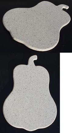 Corian Squash Shaped Cutting Board  Serving Tray