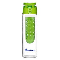 Bonison 24Ounce Infuser Water Bottle Green -- You can find more details by visiting the image link.Note:It is affiliate link to Amazon.