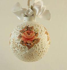 Рождественские украшения ручной росписью LaivaArt на Etsy