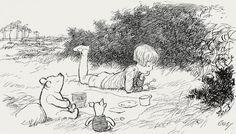 original winnie the pooh drawings