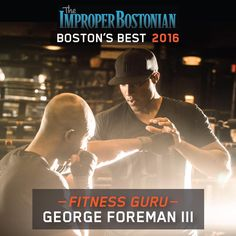 This article was originally published in the July 2016 issue of Improper Bostonian  Bobbing and weaving with the ever-changing fitness industry, George Foreman III has once again KO'd Boston's workout scene. On the heels of his successful Seaport flagship, The Club by George Foreman III—which boasts certified boxing trainers, 150-plus weekly classes and an app for booking classes and mitt-work sessions—the …