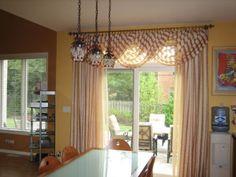 Patio Door Window Treatments The Decorators Dream