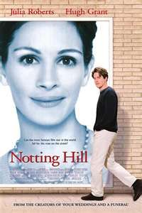 """Notting Hill An easy-going romantic comedy starring Hugh Grant and Julia Roberts.""""I'm just a girl. Two movies stars I don't even want to like but they work well together. Films Hd, Hd Movies, Movies To Watch, Movies Online, Movies Free, Comedy Movies, Girly Movies, Teen Movies, Love Movie"""