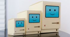 Free Printable Kawaii Retro Mac / Macintosh Computer