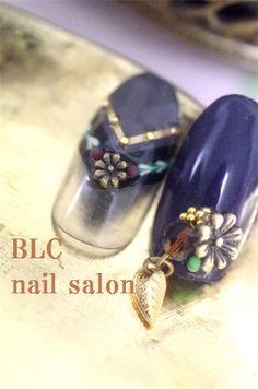 フリンジ&ダマスクリボン作り方 の画像 新潟市中央区万代ネイルサロン~BLC nail salon