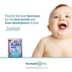 Worried about your baby's #healthy food? Bring home the #Nutrition for the #brain #development and #growth of your #baby.  #thehealthtree