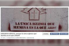 """Lobby gay organiza """"hoguera sacrílega"""" por cancelación de Ciclo Rosa en Pontificia Universidad Javeriana"""