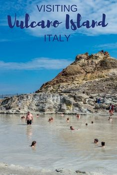 Exploring the mud baths and black sand beaches of Vulcano Island, Italy, is a unique experience. Spend a day on this Aeolian Island to see what it has to offer.