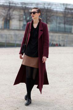 Escudo Rojizo | Moda Calle | Peeper Calle | Global Fashion Street y Street Style