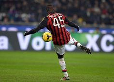 Balotelli in action!