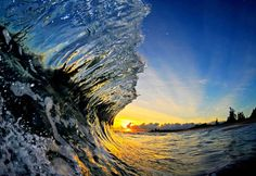 Inside a Wave: Epic Photography by Clark Little