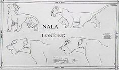Living Lines Library: The Lion King (1994) - Character: Nala