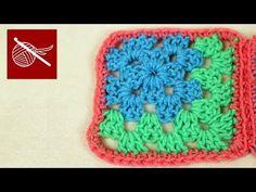 ▶ Crochet Corner Granny Square - How to Make Crochet Geek - YouTube