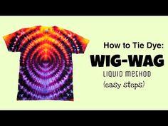 Tie Dye Tips, How To Tie Dye, How To Dye Fabric, Diy Tie Dye Designs, Tie Dye Folding Techniques, Tie Dye Tutorial, Tie Dye Crafts, Diy Crafts, Diy Gifts To Sell