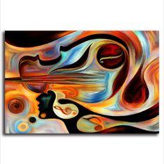 'Music Galaxy' - Abstract Canvas Print