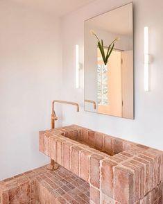 Home Interior Design .Home Interior Design Bad Inspiration, Bathroom Inspiration, Bathroom Ideas, Unique Bathroom Sinks, Bathroom Toilets, Small Bathroom, Style At Home, Interior Architecture, Interior And Exterior
