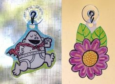 Milk jug sun catchers craft project. Trace over a picture and color it in. This project uses empty milk jugs and Sharpies. #diy #milkjugs