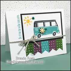 Rose Blossom Legacies: June Stamp of the Month