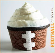 Superbowl Ideas - Cupcakes