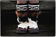 MUKLUKS: ESKIMO'S SOFT FUR BOOT   http://www.alaskanativearts.org/social-media  http://dictionary.reference.com/browse/mukluks