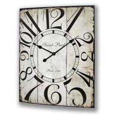 Saint Paul large wall clock
