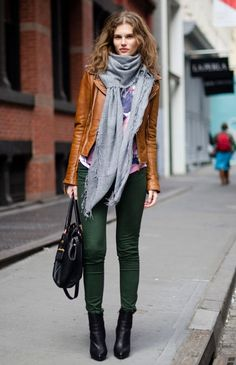 hunter green skinnies