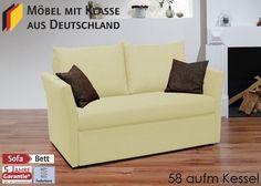 Schlafsofa Till Gästebett Bettsofa Schlafcouch Bettcouch Creme 3121. Buy now at https://www.moebel-wohnbar.de/schlafsofa-bettsofa-sofa-m-funktion-creme-3121