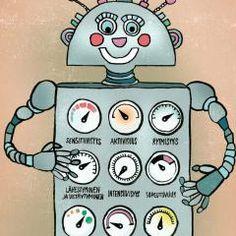 Taran tarina – animaatio lapsille kehon ja mielen vahvistamiseen | Suomen Mielenterveysseura Robot, School, Wellness, Fictional Characters, Robots, Fantasy Characters