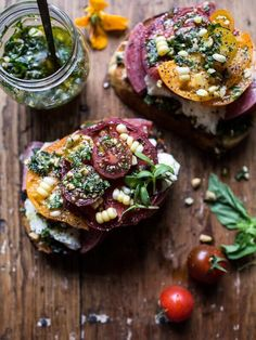 3 Easy Tomato Bruschetta Recipes That Are Made for Summer Entertaining via @MyDomaine