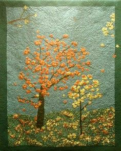 1000  images about Immi's textiles: nature quilts on Pinterest