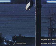 """"""" anime ~ manga ~ scenery ~ art my gifs Aesthetic Gif, Aesthetic Videos, Retro Aesthetic, Aesthetic Wallpapers, Gifs, Old Anime, Anime Art, Anime Snow, Anime Gifts"""