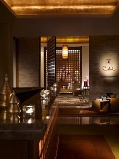 Entrance to Chi Spa