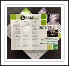 Free calendar magnet, while they last!