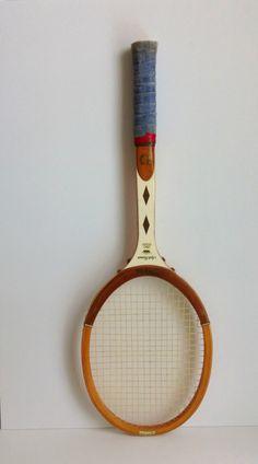 vintage Wilson tennis racket  Jack Kramer Pro Staff by ImSoVintage, $25.00