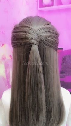 hairstyle_biing's short video with ♬ original sound – hairstyle_biing styles coiffure amour mode femmes - DiyForYouCan you learn this hairstyle? - Best HairStyles For Gorgeous Summer Hairstyles That You Will Want to Try冰冰姐 吖 has j Summer Hairstyles, Up Hairstyles, Braided Hairstyles, Simple Hairstyles For Long Hair, Gorgeous Hairstyles, Long Thin Hair, Braids For Long Hair, Hair Upstyles, Long Hair Video