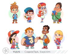 Kids Portfolio Page by LuigiL.deviantart.com on @deviantART