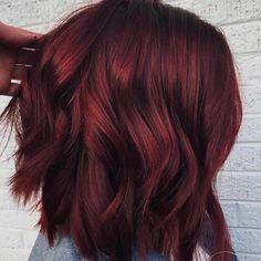 Włosy w kolorze grzanego wina: idealne na zimę:)