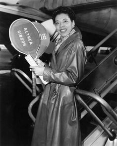 Althea Gibson. #LOVE