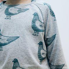 "Sweatshirt Grecha ""pigeon"" for kids. Grecha kids."