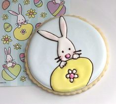 Easter Bunny Cookies & Preventing Craters in Icing