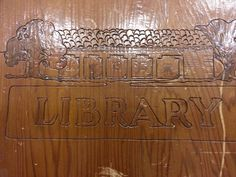 Bottom portion, cover, The History of Alameda County Library, Dublin Library, County Library, Libraries, History, Cover, Historia, Library Room, Bookcases, Bookstores
